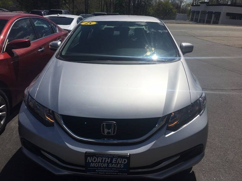 2015 Honda Civic for sale at North End Motors Sales in Worcester MA