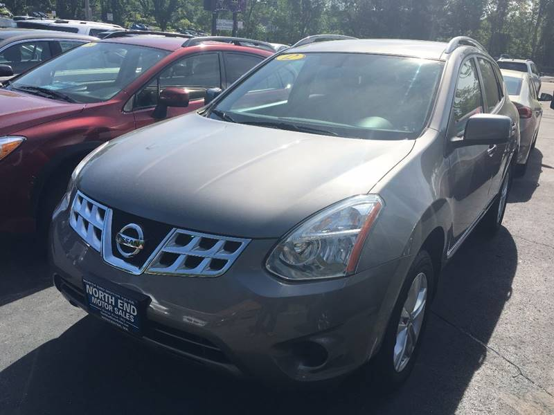 2012 Nissan Rogue for sale at North End Motors Sales in Worcester MA