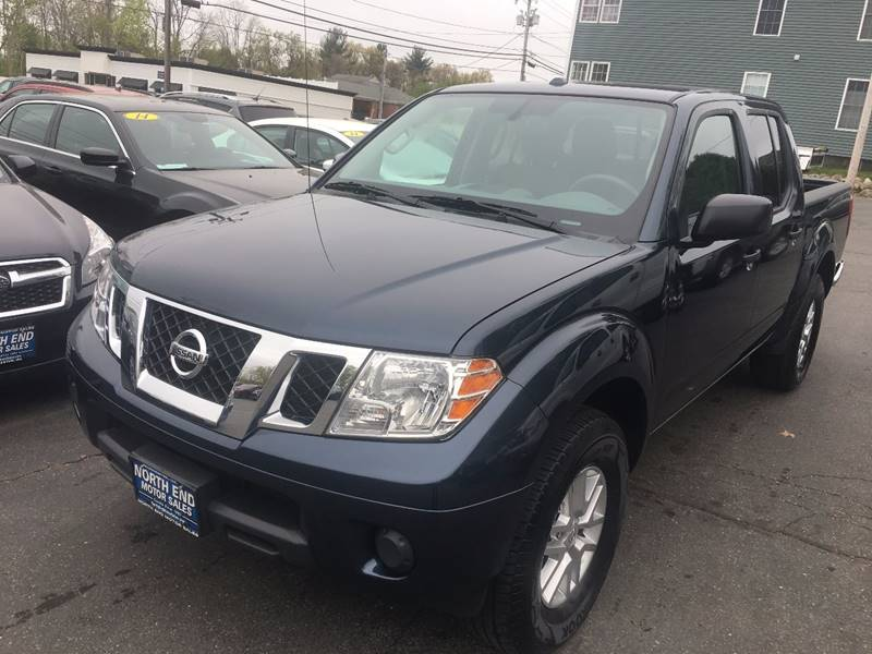 2016 Nissan Frontier for sale at North End Motors Sales in Worcester MA