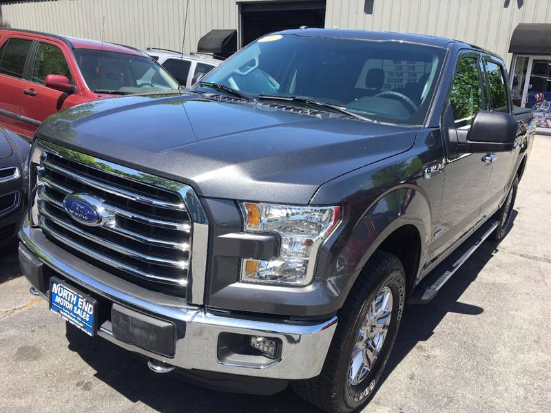 2016 Ford F-150 for sale at North End Motors Sales in Worcester MA