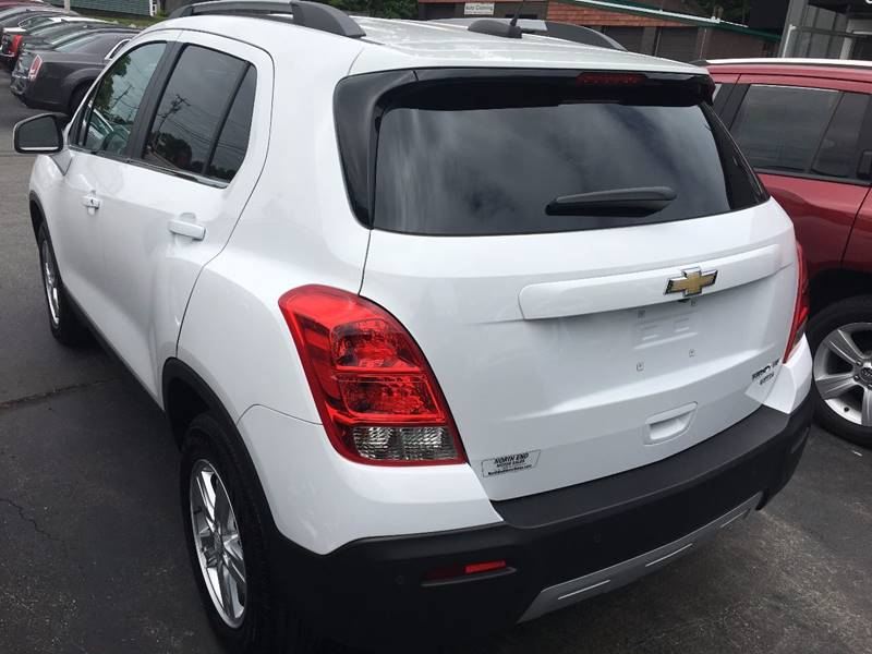 2015 Chevrolet Trax for sale at North End Motors Sales in Worcester MA