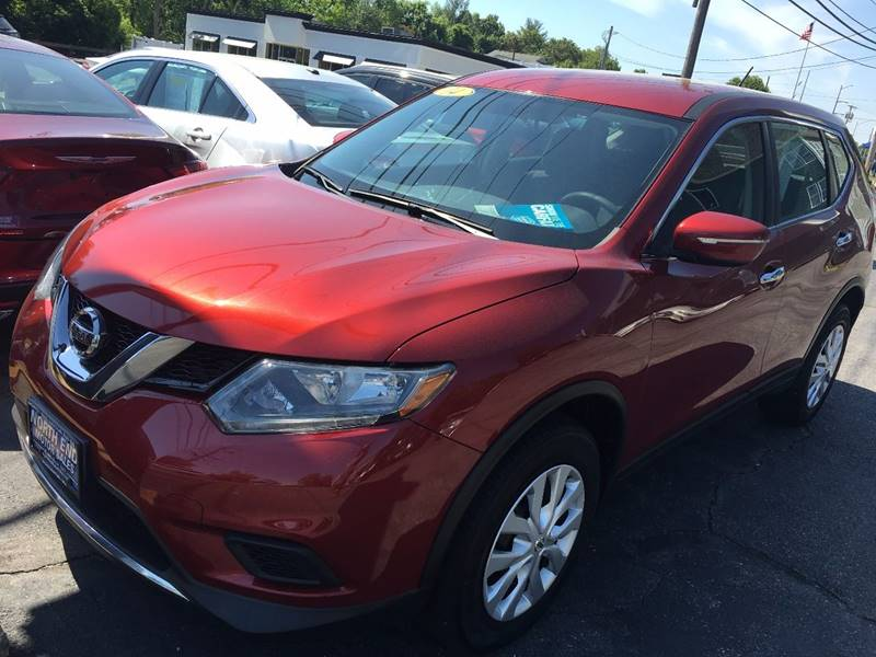 2014 Nissan Rogue for sale at North End Motors Sales in Worcester MA