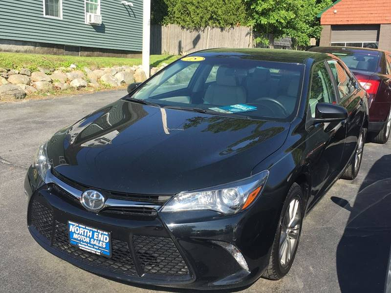 2015 Toyota Camry for sale at North End Motors Sales in Worcester MA