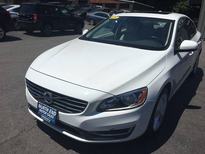 2015 Volvo S60 for sale at North End Motors Sales in Worcester MA
