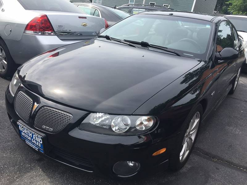 2004 Pontiac GTO for sale at North End Motors Sales in Worcester MA