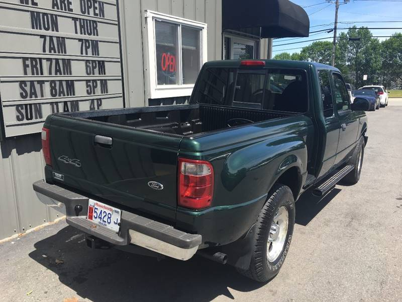 2003 Ford Ranger for sale at North End Motors Sales in Worcester MA