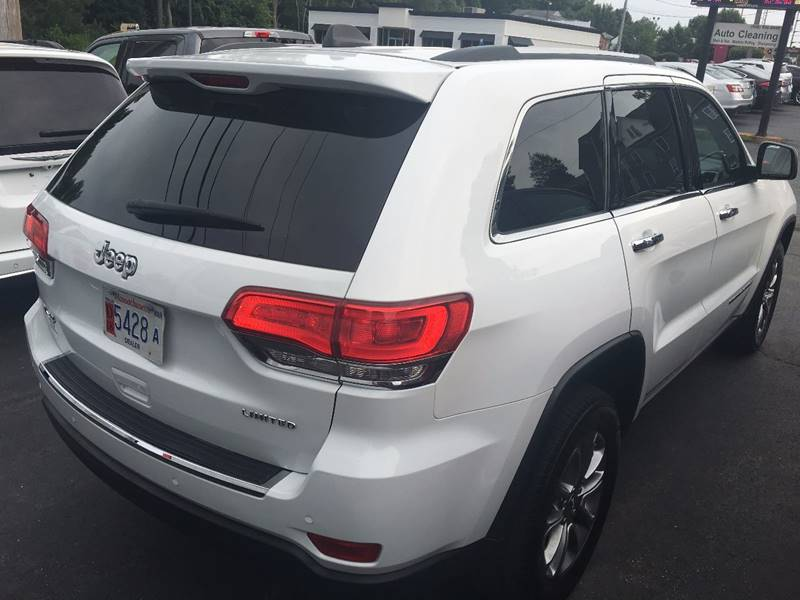 2014 Jeep Grand Cherokee for sale at North End Motors Sales in Worcester MA