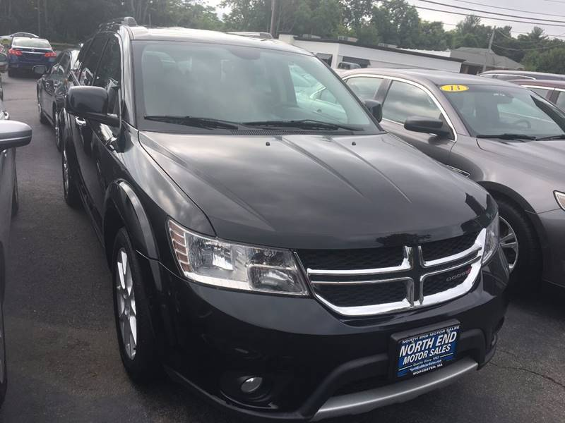 2014 Dodge Journey for sale at North End Motors Sales in Worcester MA
