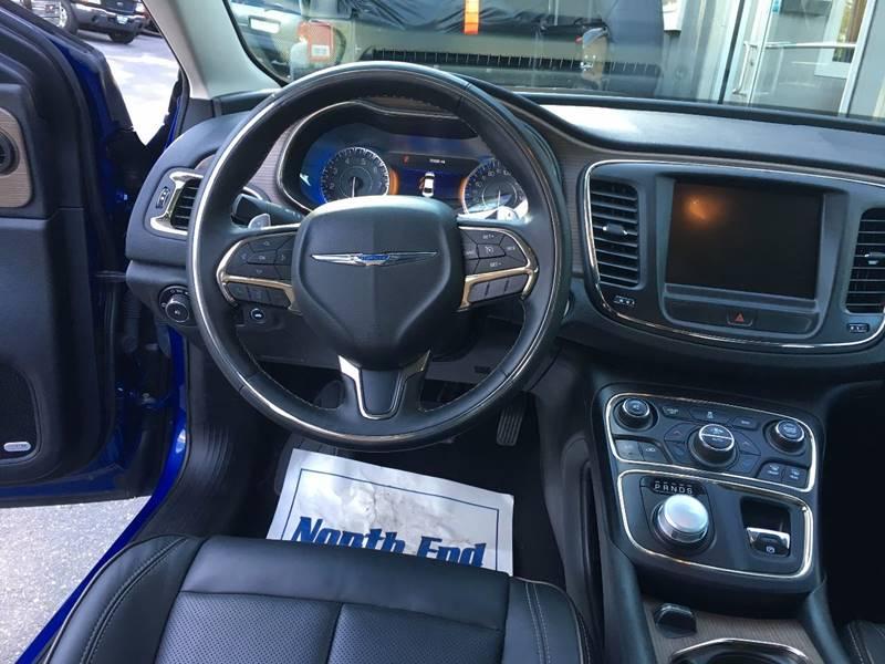 2015 Chrysler 200 for sale at North End Motors Sales in Worcester MA