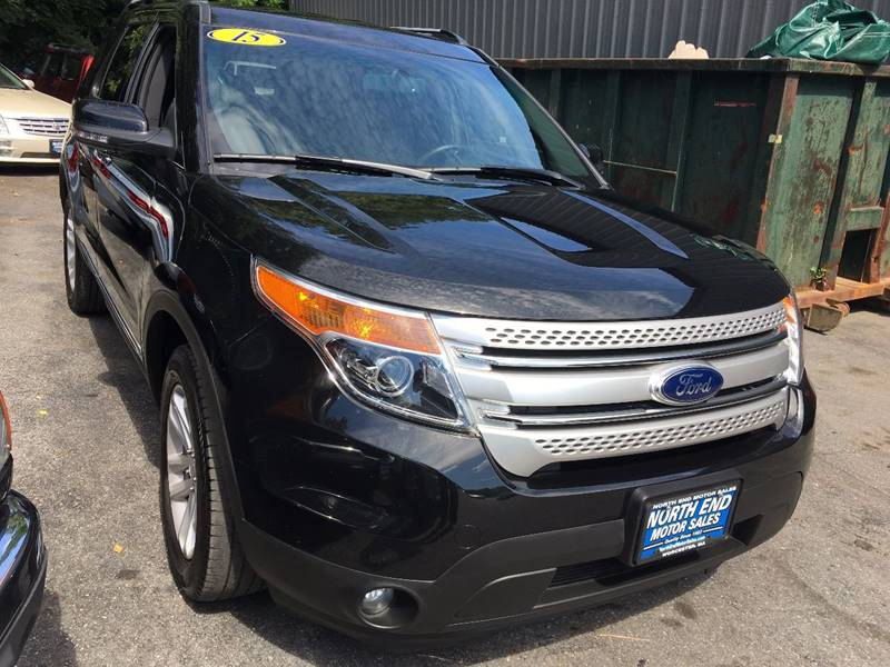 2015 Ford Explorer for sale at North End Motors Sales in Worcester MA