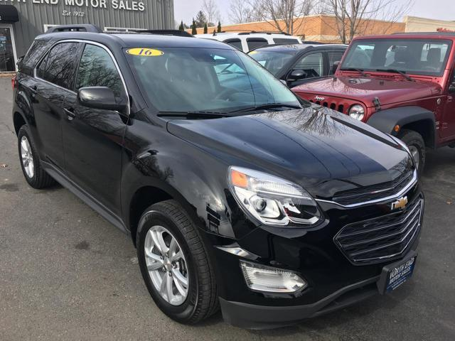 2016 Chevrolet Equinox for sale at North End Motors Sales in Worcester MA