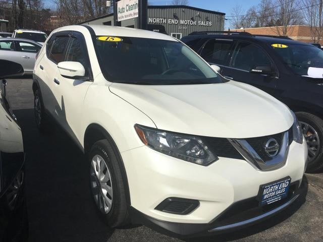 2015 Nissan Rogue for sale at North End Motors Sales in Worcester MA