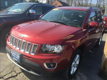 2015 Jeep Compass for sale at North End Motors Sales in Worcester MA