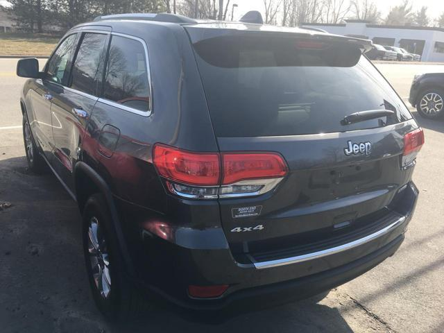 2015 Jeep Grand Cherokee for sale at North End Motors Sales in Worcester MA