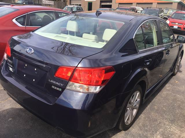 2014 Subaru Legacy for sale at North End Motors Sales in Worcester MA
