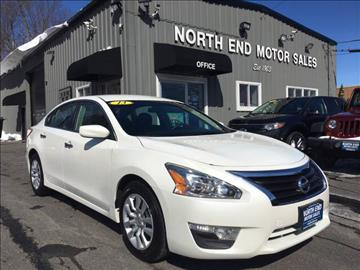 2013 Nissan Altima for sale at North End Motors Sales in Worcester MA