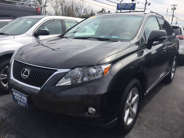 2010 Lexus RX 350 for sale at North End Motors Sales in Worcester MA