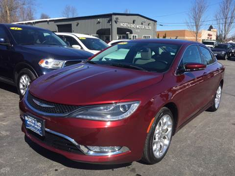 2015 Chrysler 200 for sale at North End Motors Sales in Worcester MA