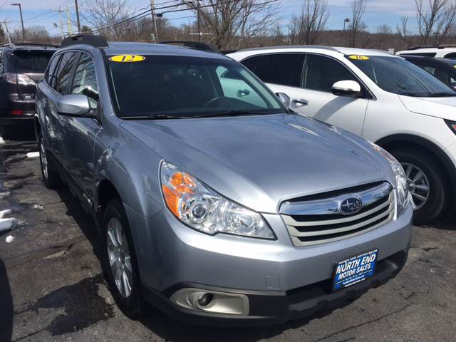 2012 Subaru Outback for sale at North End Motors Sales in Worcester MA