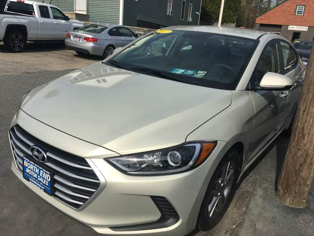 2017 Hyundai Elantra for sale at North End Motors Sales in Worcester MA