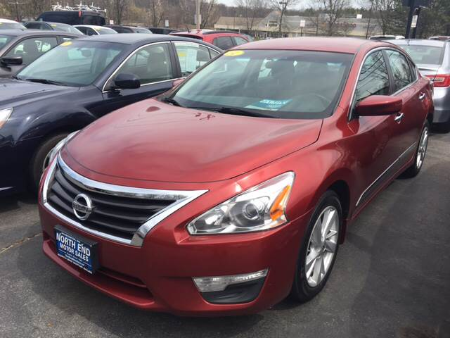 2014 Nissan Altima for sale at North End Motors Sales in Worcester MA
