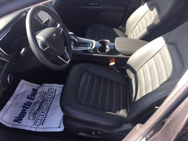 2015 Ford Fusion for sale at North End Motors Sales in Worcester MA