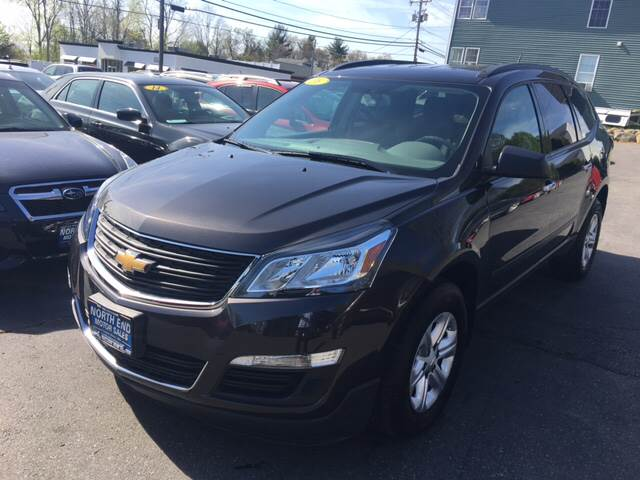 2016 Chevrolet Traverse for sale at North End Motors Sales in Worcester MA