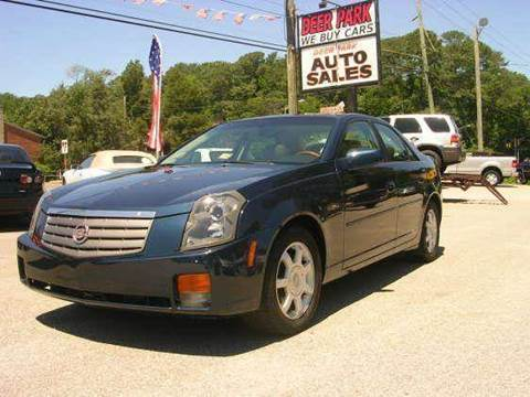 2003 Cadillac CTS for sale at Deer Park Auto Sales Corp in Newport News VA