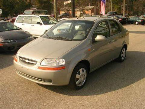 2004 Chevrolet Aveo for sale at Deer Park Auto Sales Corp in Newport News VA