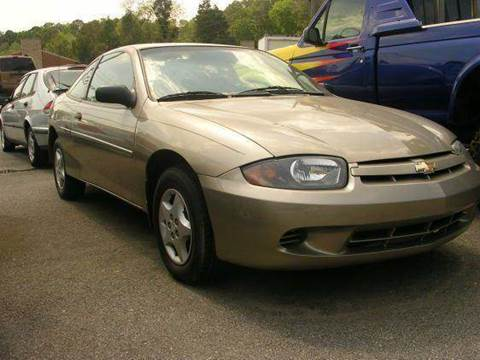 2004 Chevrolet Cavalier for sale at Deer Park Auto Sales Corp in Newport News VA