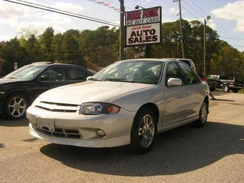 2003 Chevrolet Cavalier for sale at Deer Park Auto Sales Corp in Newport News VA