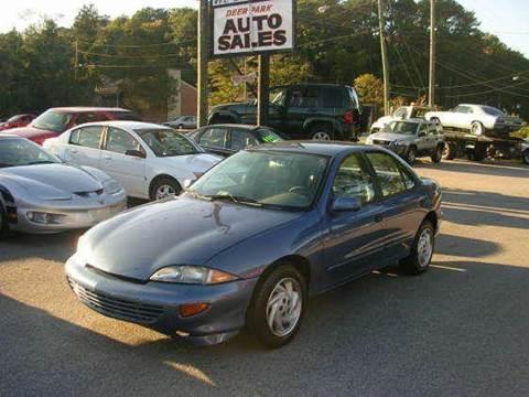1998 Chevrolet Cavalier for sale at Deer Park Auto Sales Corp in Newport News VA