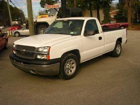 2005 Chevrolet Silverado 1500 for sale at Deer Park Auto Sales Corp in Newport News VA