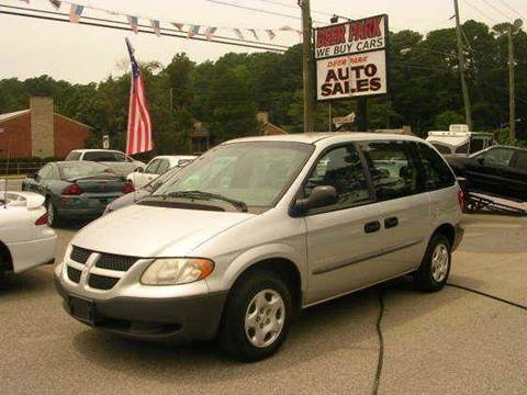 2001 Dodge Caravan for sale at Deer Park Auto Sales Corp in Newport News VA