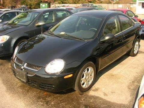 2005 Dodge Neon for sale at Deer Park Auto Sales Corp in Newport News VA