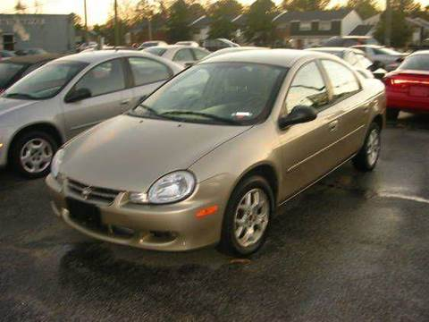 2002 Dodge Neon for sale at Deer Park Auto Sales Corp in Newport News VA