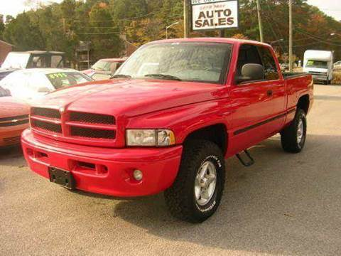 2000 Dodge Ram Pickup 1500 for sale at Deer Park Auto Sales Corp in Newport News VA
