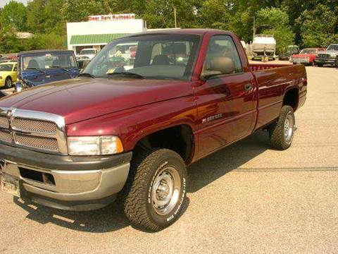 2001 Dodge Ram Pickup 1500 for sale at Deer Park Auto Sales Corp in Newport News VA
