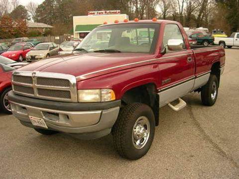 1996 Dodge Ram Pickup 2500 for sale at Deer Park Auto Sales Corp in Newport News VA