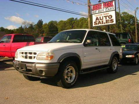 2001 Ford Explorer for sale at Deer Park Auto Sales Corp in Newport News VA