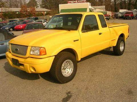 2002 Ford Ranger for sale at Deer Park Auto Sales Corp in Newport News VA