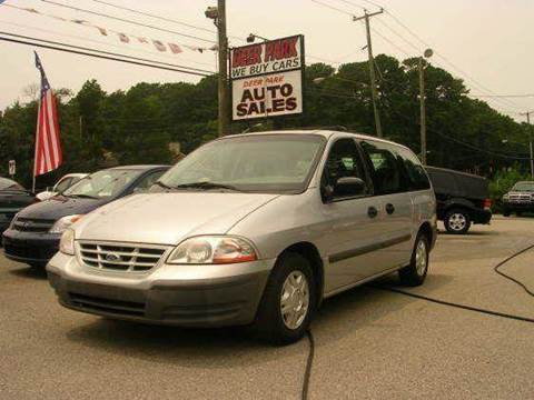 1999 Ford Windstar for sale at Deer Park Auto Sales Corp in Newport News VA