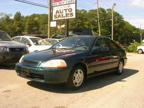 1997 Honda Civic for sale at Deer Park Auto Sales Corp in Newport News VA