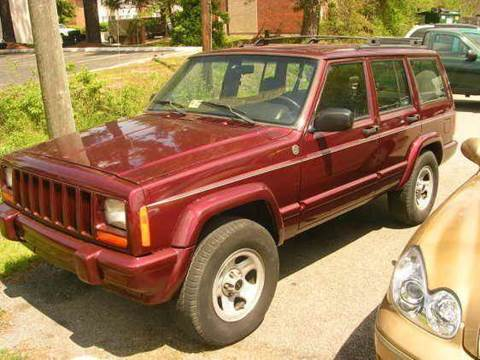 2000 Jeep Cherokee for sale at Deer Park Auto Sales Corp in Newport News VA
