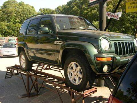 2002 Jeep Liberty for sale at Deer Park Auto Sales Corp in Newport News VA