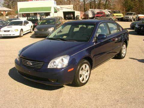2006 Kia Optima for sale at Deer Park Auto Sales Corp in Newport News VA