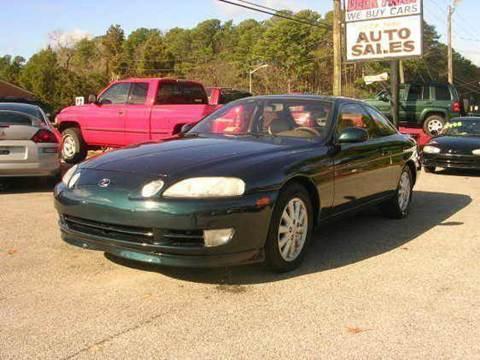 1994 Lexus SC 400 for sale at Deer Park Auto Sales Corp in Newport News VA
