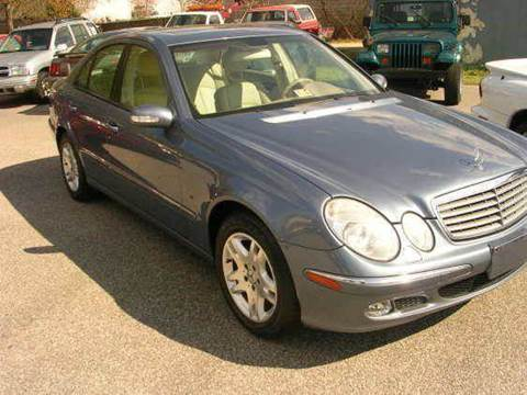 2003 Mercedes-Benz E-Class for sale at Deer Park Auto Sales Corp in Newport News VA