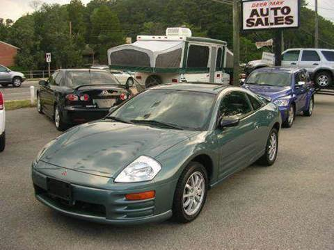 2001 Mitsubishi Eclipse for sale at Deer Park Auto Sales Corp in Newport News VA