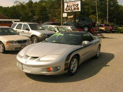1998 Pontiac Firebird for sale at Deer Park Auto Sales Corp in Newport News VA